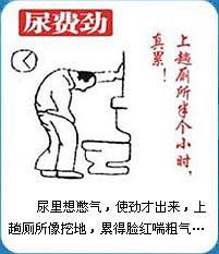 前列腺炎导致尿费劲